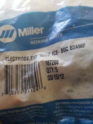 Miller 187288 Electrodeextended Ice- 80c 80amp. 4 Electrodes