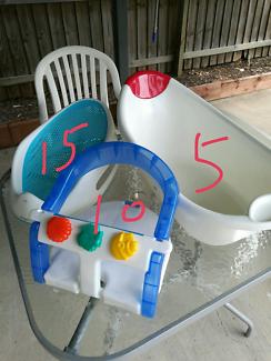 Baby bath aids