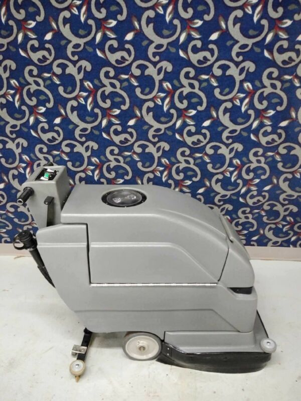 """Tennant Nobles 2001HD 20"""" floor scrubber with NEW batteries and FREE shipping"""