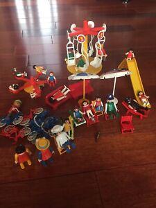 Ensemble de playmobil vintage