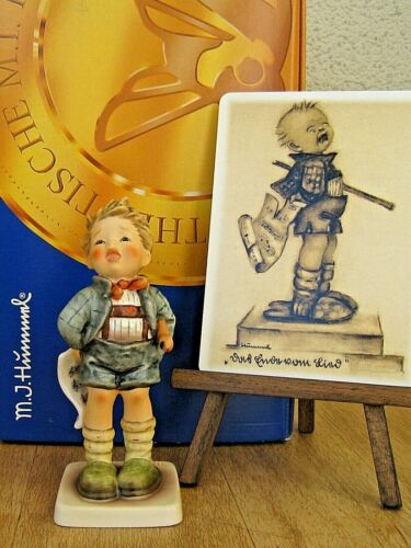 "Hummel Figurine ""SAD SONG"" HUM #404 TM8 Goebel Germany BOY WITH TEARS NIB E806"