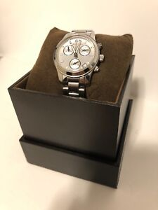 Michael Kors Stainless Steel Small Chronograph, Date Watch