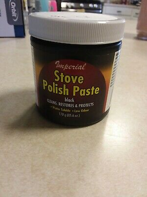 NEW Imperial Manufacturing KK0059 Stove Polish Paste Clean Restore And Protect - Stove Polish