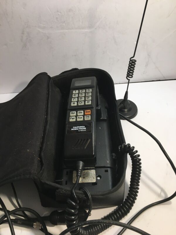 Motorola Vintage Car Phone And Antenna