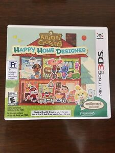 Animal Crossing Happy Home Designer game for 3DS