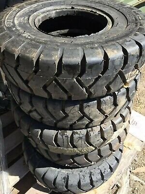 New Forklift Tire Tube Type 6.50x10 Wo Flap.10 Ply Denman 6.50 10