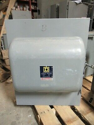 Square D 92454 200 Amp 240 Volt 4 Pole Double Throw Safety Switch - Ats295