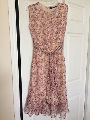 Lauren Ralph Lauren Sleeveless Dress. Women's Size 8. New/tags. MSRP $155.00