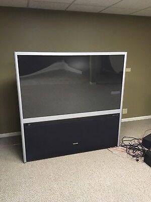 60 inch Toshiba TV - projection big (Toshiba Big Screen Tv)