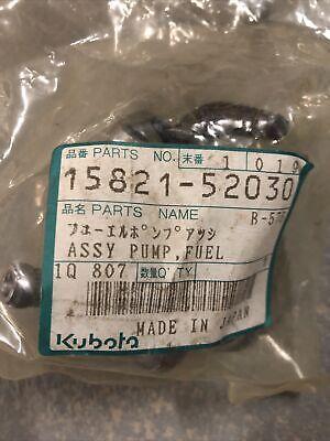 Kubota Fuel Pump Assembly Part 15821-52030
