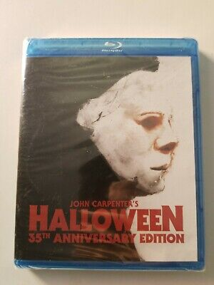 NEW JOHN CARPENTER HALLOWEEN 35TH ANNIVERSARY EDITION HORROR MOVIE BLU RAY 1978 - Halloween 35th Anniversary Edition