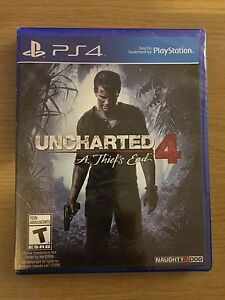 Uncharted 4 Sealed For Trade/Sale
