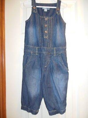 The Childrens Place Girls Size 5 Blue Jean Capri Jumper Capri-jumper