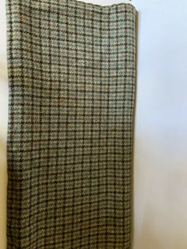 VINTAGE WOOL FABRIC + PATTERN + ZIPPER & LINING FOR SKIRT