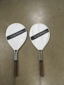 Pair of Venture Tennis Racquets