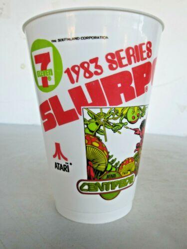Vintage 7-11 Slurpee Cup 1983 Video Game Series Retro Atari Centipede