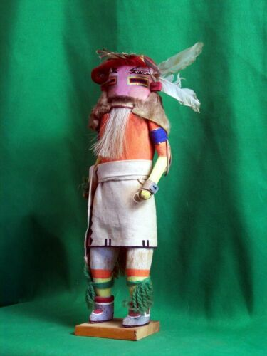 Zuni Kachina Doll - the Zuni Hilili Kachina - ca 1920 - Vintage Museum Piece!