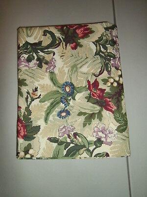Pretty Flower Bed - 1-Pretty Winter Flower Bouquet Queen Size Pillowcase 100% Cotton New & Handmade