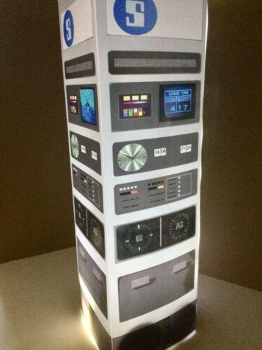 SpAcE 1999 Communication post Prop lamp translight Star Trek space age Cond