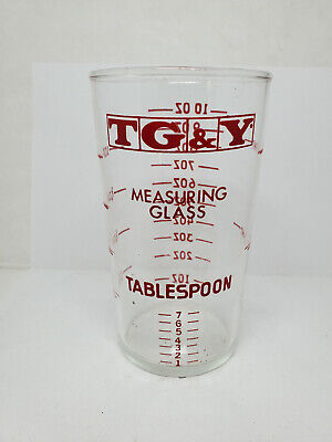 Advertising measuring glass - TG & Y Stores #7 (1770)