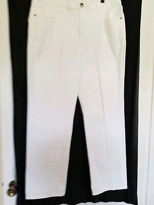 Lee Platinum Label Classic White Jeans  16 M ()