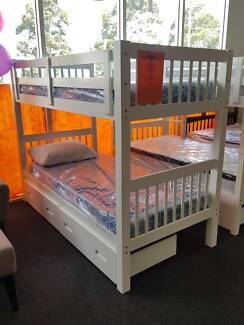 MASSIVE CLEAROUT ALL STOCK MUST GO! TYSON SINGLE BUNK BED