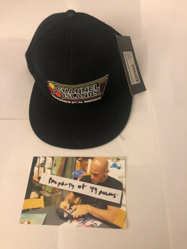 Kelly Slater SIGNED new Channel Islands Hat with Price Tag Exact Photo Proof
