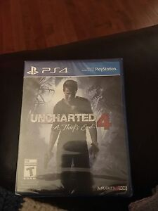 Brand new sealed Uncharted 4 PS4