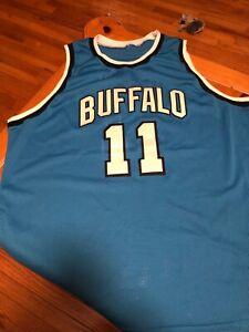 46911944 Buffalo Braves Bob McAdoo Blue Jersey Mitchell & Ness Hardwood Classics