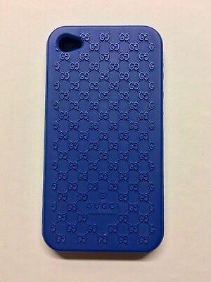 74cd25fae672f Gucci iPhone 4   4S Silikon Cover Blau (sehr guter Zustand) gebraucht  kaufen Altlewin