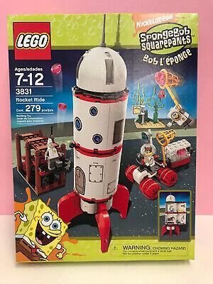 LEGO Sponge Bob Rocket Ride NRFB sealed New Excellent