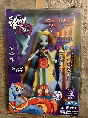My Little Pony Equestria Girls Rainbow Dash Extra Long Extra Awesome Hair H8K