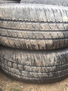 Two 205/65r15 tires text 902 223 2108