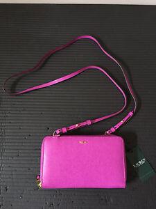 Lauren Ralph Lauren Leather Crossbody Purse