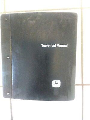 Jd 770a772a Motor Grader Factory Technical Shop Manual In Factory Binder
