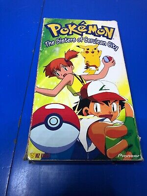 Pokemon Vhs The Sisters Of Cerulean City