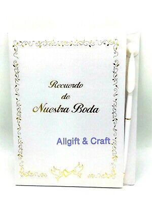 Wedding Guest Book- Libro de firmas Boda-spanish - Wedding Script