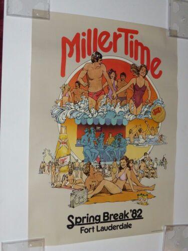 Miller Time Lite High Life Spring Break
