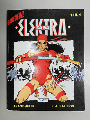 DAREDEVIL  Bd. 1: ELEKTRA-SAGA (1), SC, Feest, Frank Miller, Superhelden   /1
