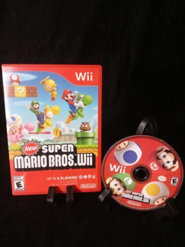 New Super Mario Bros Wii, 2009 No Manual Good Condition  - $24.99