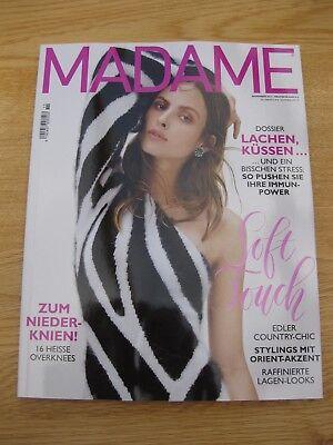 Zeitschrift Madame November 2017