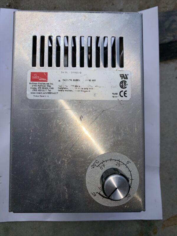 Hoffman nVent DAH4001B Electric Heater Aluminum 400W 115V 50/60 Hz