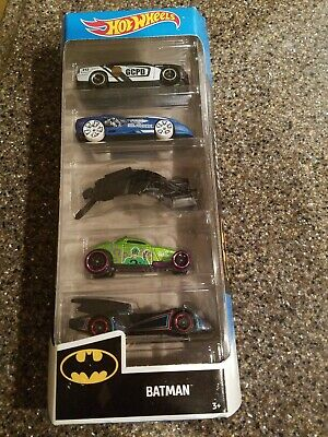 Hot Wheels Batman 5-Pack Batmobile 2020 5pk New