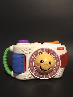 Fisher Price Learning Camera Laugh & Learn Sing Along ABC Colors Numbers