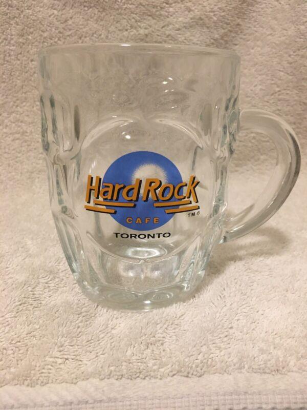 EUC HARD ROCK CAFE  Toronto Skydome Pre Unification BEER CUP MUG GLASS R3
