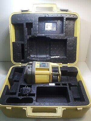 Topcon Single Slope Rotary Laser Model Rl-h1sa In Case Infrared Beam