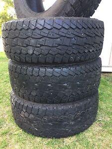 """35"""" Falken wildpeak tires"""