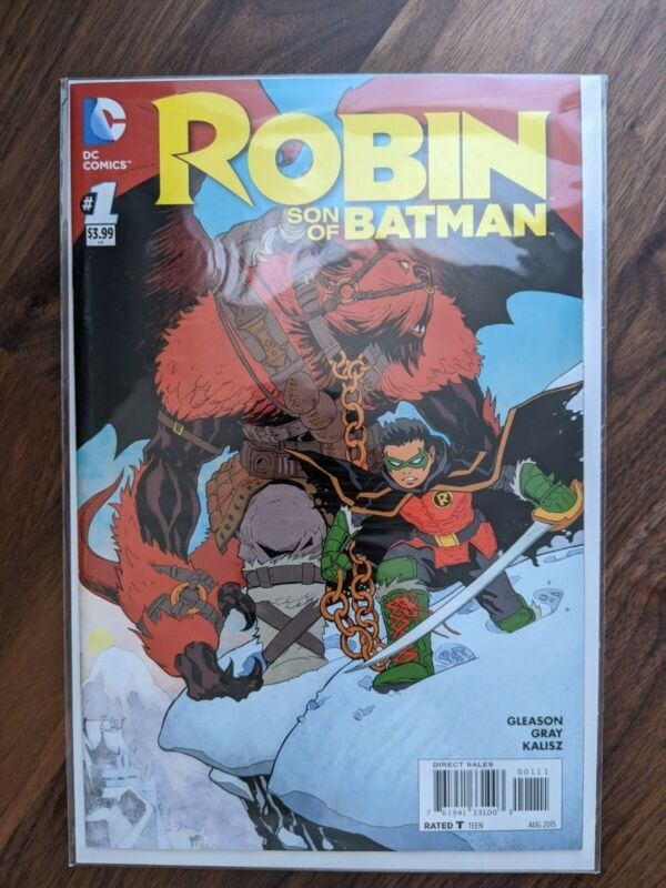 ROBIN SON OF BATMAN #1 NM - 1st appearance of the second Nobody