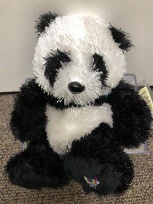 Webkinz Lilkinz Panda Brand New With Sealed/Unused Code Tag * SMOKE FREE HOUSE (Steel Panda)