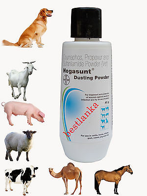 Negasunt Wound Powder Dog Cattle Horse Sheep Goat Pig Camel Pet First Aid 40g